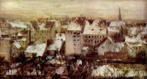 Painitng pelo pintor alemão Adolf von Menzel